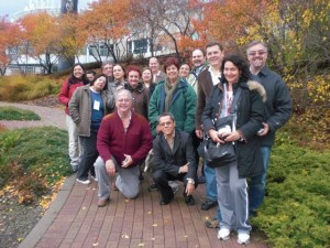 Foto 2 - Parte do grupo